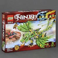"""Конструктор QS08 70722 (Аналог Lego Ninjago) """"Зеленый дракон""""384 детали"""