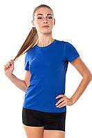 Спортивная женская футболка Rough Radical Capri синяя S