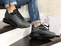 Мужские термо кроссовки серые Air Max 720 8741
