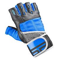 Мужские спортивные перчатки Spokey RAYO III 921030 синие с черным, фото 1