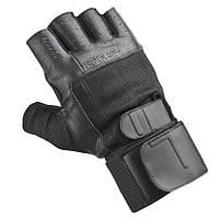 Мужские спортивные перчатки Spokey Guanto II 921331 черные, фото 1