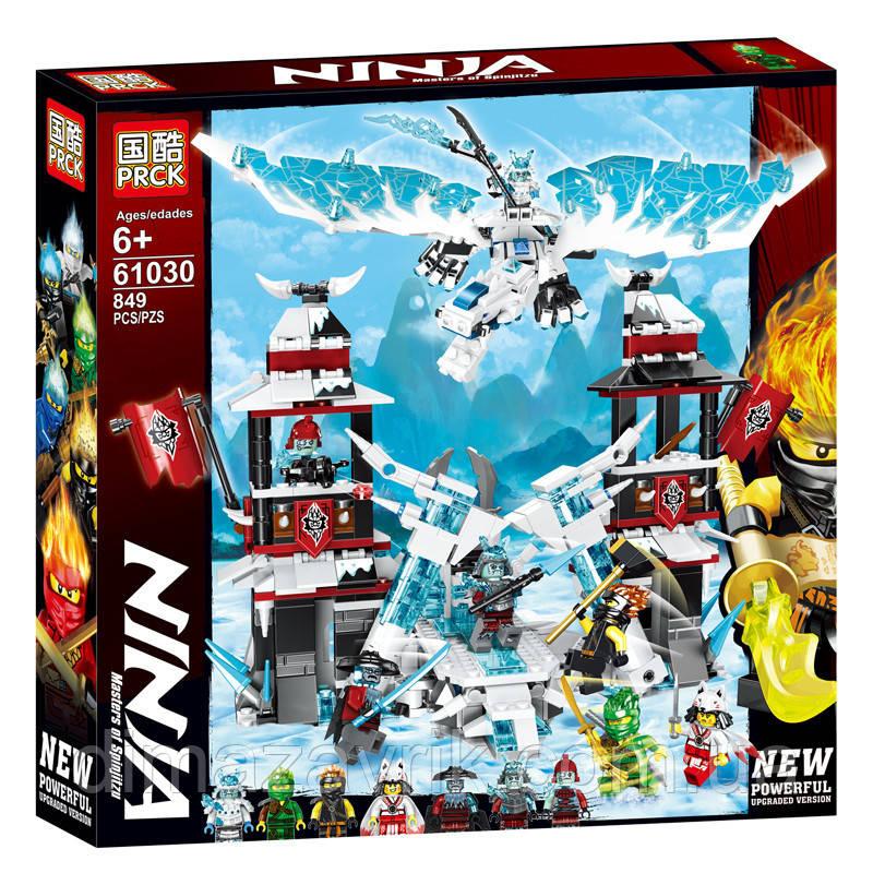 """Конструктор Lele 61030 (Аналог Lego Ninjago 70678) """"Замок проклятого императора"""" 849 деталей"""