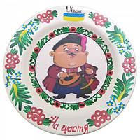 """КНР Тарелка """"казак С Лютней"""" Расписано Вручную (24 См) 30440J"""