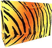 Пакет бумажный подарочный большой горизонтальный 25*37,5см W4-5
