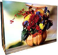 Пакет бумажный подарочный большой горизонтальный 25*37,5см W4-4