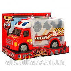 Машинка 661-175, (набор пожарника)