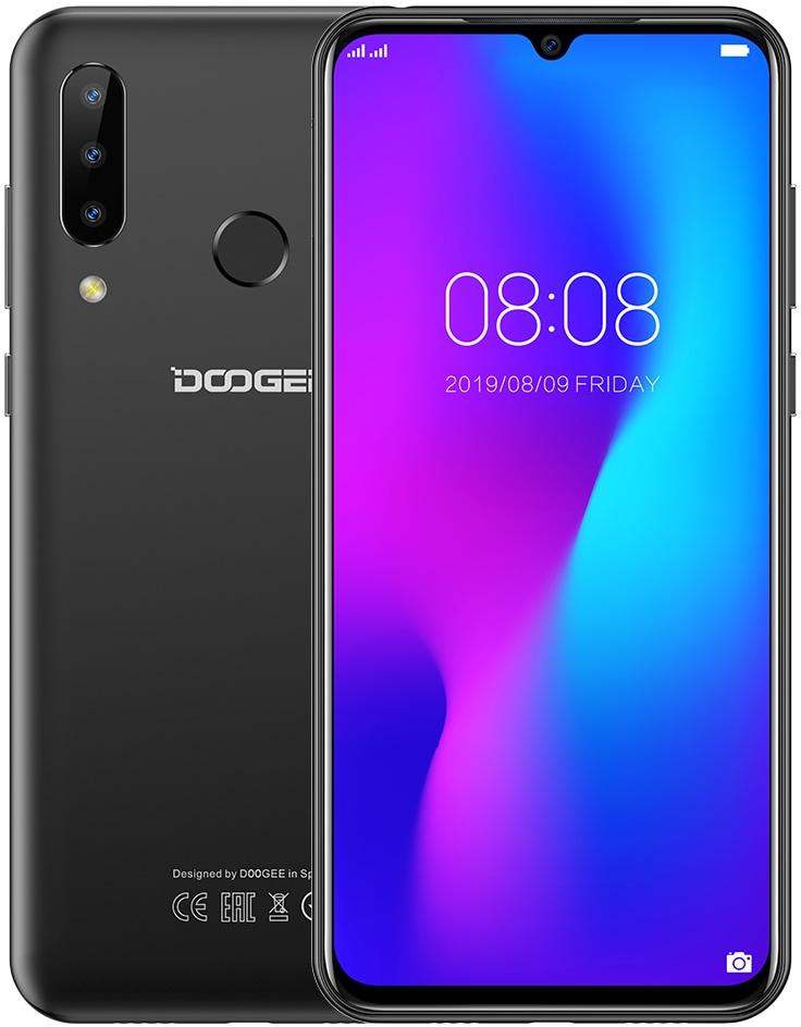 Doogee N20 ( Y9 Plus ) | Чорний | 4/64gb | 4G/LTE | Гарантія