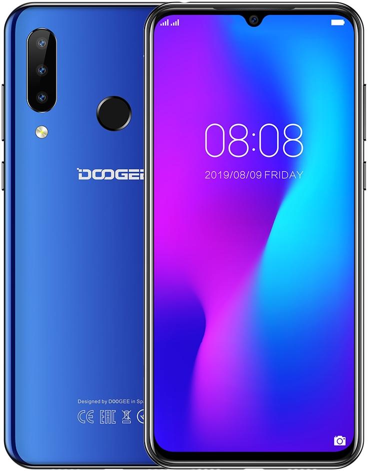 Doogee N20 ( Y9 Plus ) | Синій | 4/64gb | 4G/LTE | Гарантія