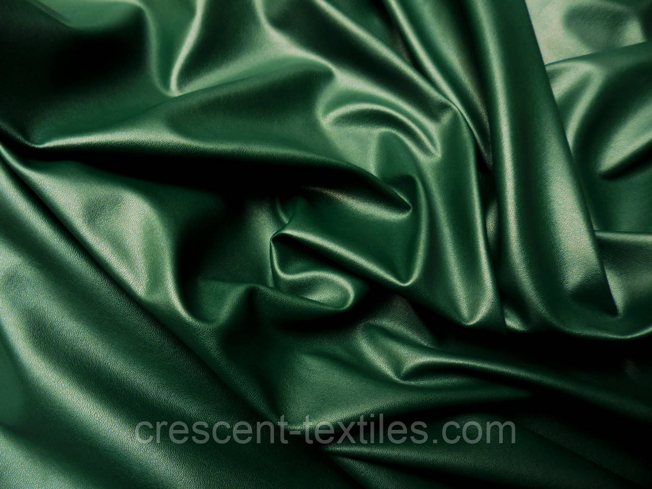 Тканина Шкіра Стрейч (Зелений)