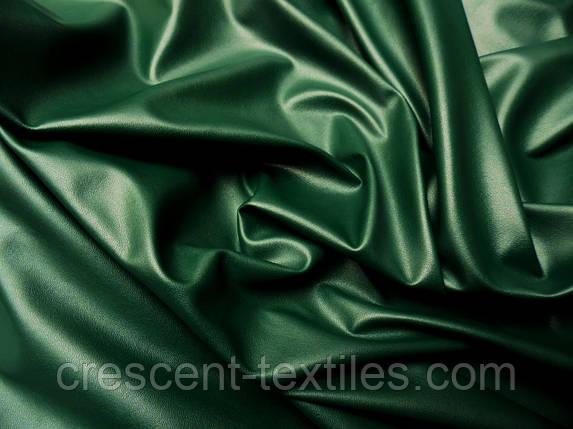 Тканина Шкіра Стрейч (Зелений), фото 2