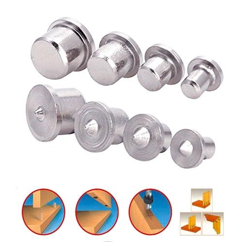 Шкантовые разметчики от 6 до 12мм, центровки-кернера для шкантов набор, 8 шт