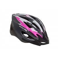 КНР Шлем Велосипедный Hel128 M Черно-Розовый