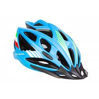 КНР Шлем Велосипедный С Козырьком Сigna Wt-036 M (54-57См) Синий