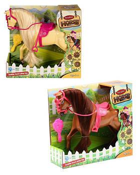 Животные BYL033-1 Лошадка, 2 цвета микс, в коробке 28*9*25,5см