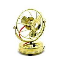 КНР Вентилятор Ретро На Батарейках Бронза (15Х11Х9 См) 27386