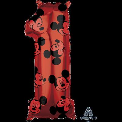 "Цифра А 26"" Mickey #1 красный"
