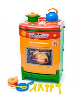 Плита-духовка с посудой, арт. 822, Орион