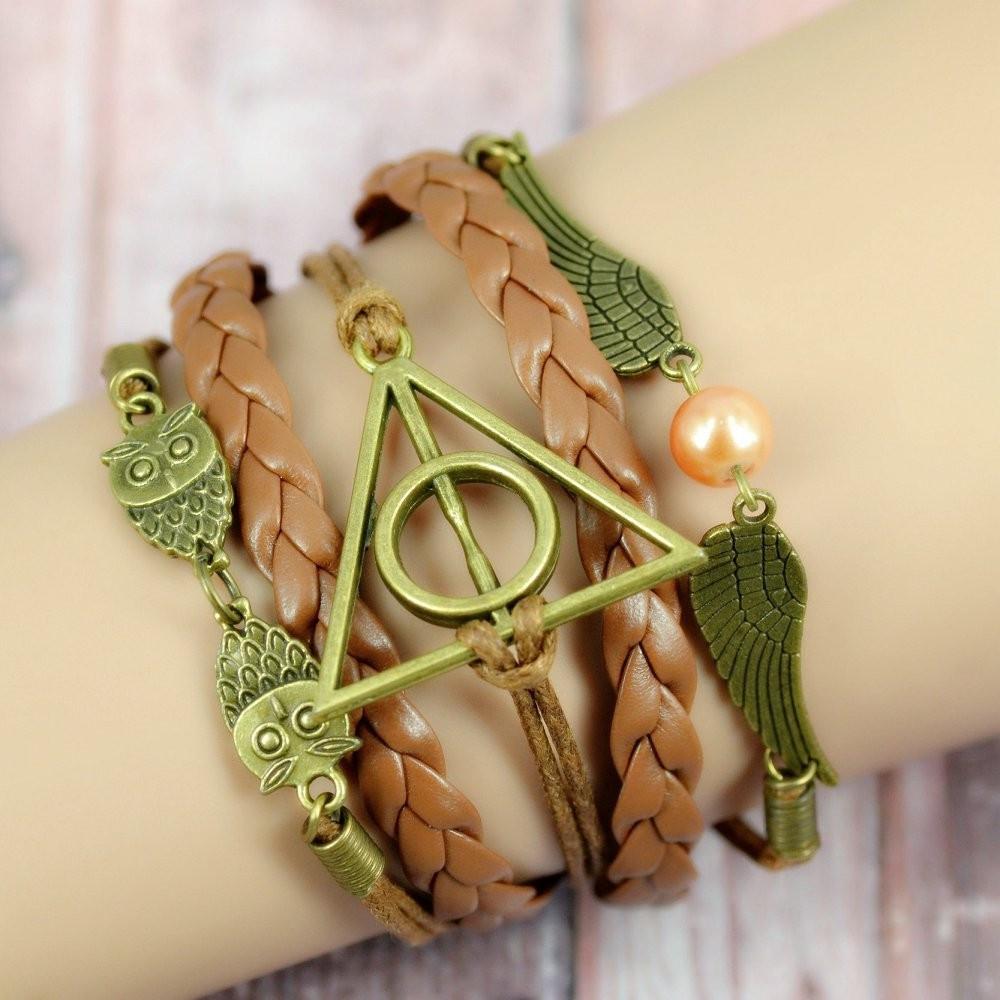 Браслет Дары Смерти Гарри Поттер Harry Potter HP 6.48