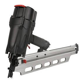 Гвоздезабивной пистолет пневматический для обшивки реечный (50-83;магазин 60 гвоздей) AEROPRO RHF9021