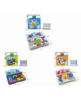 "Игра-головоломка""IQ games"" YF-207/208/209 3 вида микс, от простого к сложному, развитие логики"