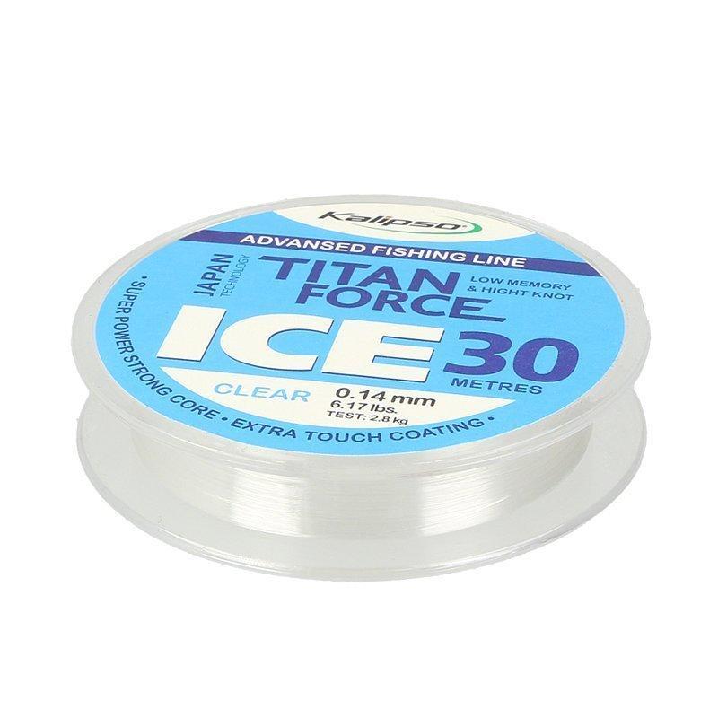 Волосінь Kalipso Titan Force Ice 30м 0,14 мм