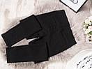 0860-1 ASCXE джеггинсы батальные черные весенние стрейчевые (30-36, 6 ед.), фото 3