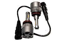 Комплект LED ламп HeadLight S2 H11 5000K 8000lm с вентилятором