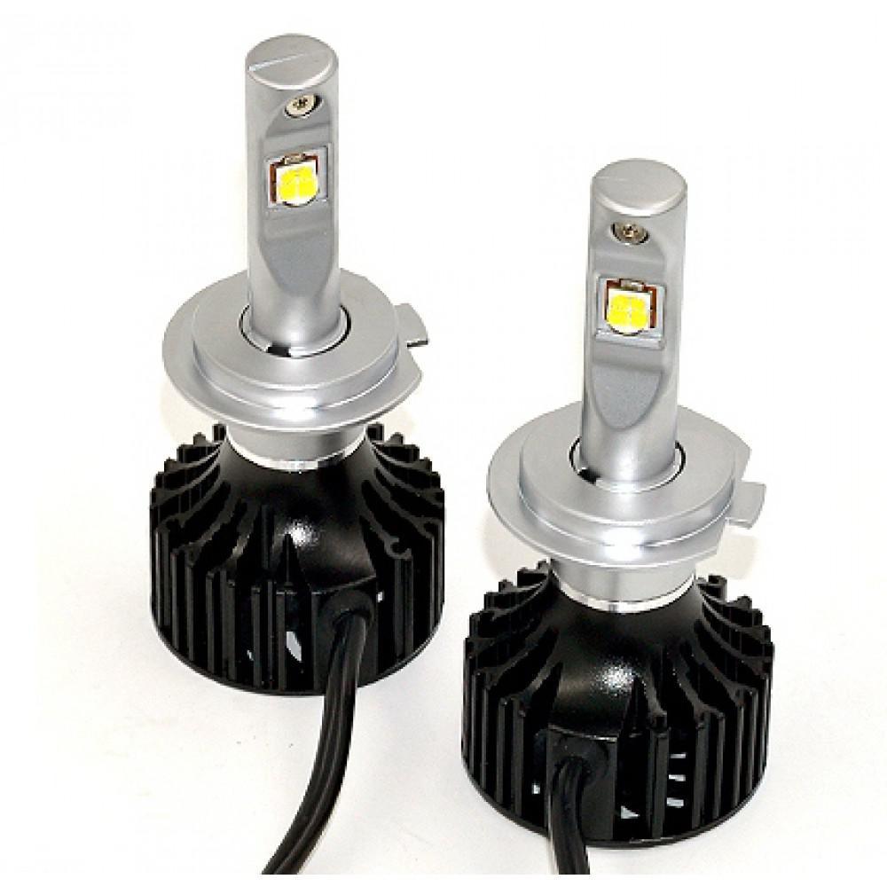 Комплект LED ламп ALed X H7 35W 5000K 4000lm с вентилятором (для линзованной оптики)