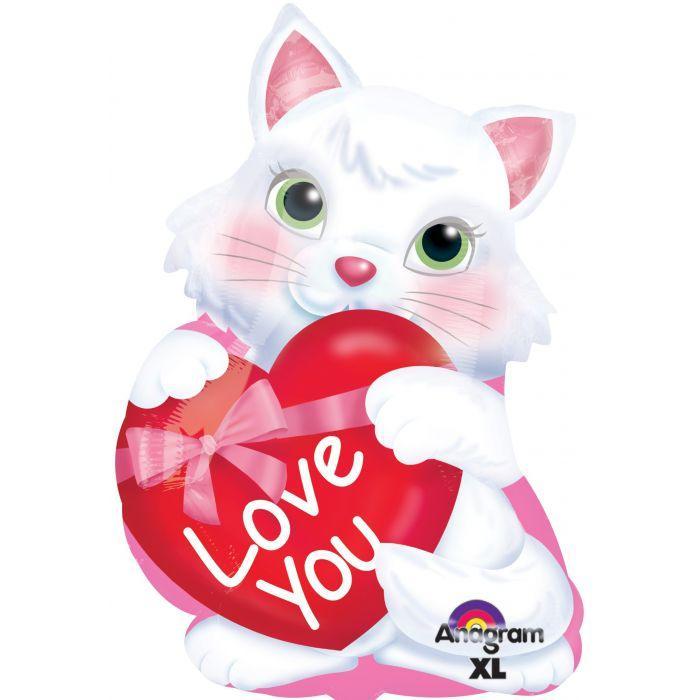 """А 20"""" ILY Kitten Кошеня Люблю тебе"""