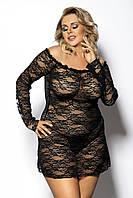 Эротическое кружевное платье Anais Orangina, XL/XXL, 5XL/6XL