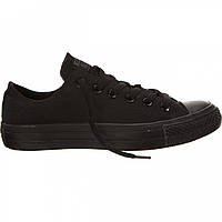Кеды Converse All Stars Black Monochrome Low M5039 (черные) 39