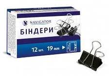 Біндер 41мм NV-75318 чорний (12/1296) (NAVIGATOR) ш.к. 4823083102913