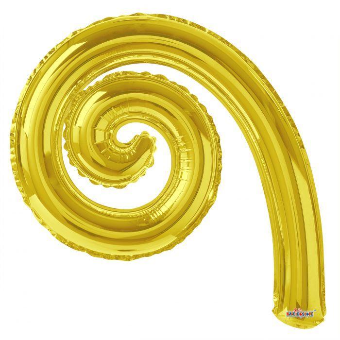 "К Спиральный шар14"" Kurly Spiral Gold"