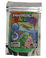 """Игра """"Живой песок"""" 6723-2 5 цветов по 100 гр, мерцающий, в пакете"""