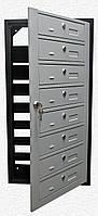 Ящики почтовые многосекционный Антивандальные на шесть квартир