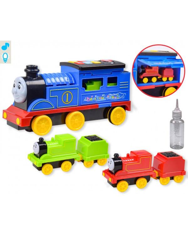 Поезд батар. NI0-1023 свет, звук, дым, в кор. 38,5*14*20,5см