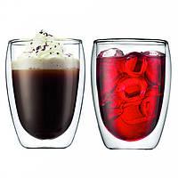 Набор стаканов с двойными стенками Bodum Pavina 0.35 л