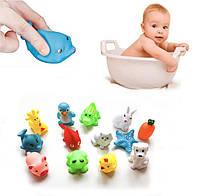 Игрушки для ванны JOKEJOLLY 60х55х35 мм 13 шт Разноцветный