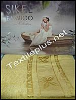 Простынь махровая бамбук Sikel Турция
