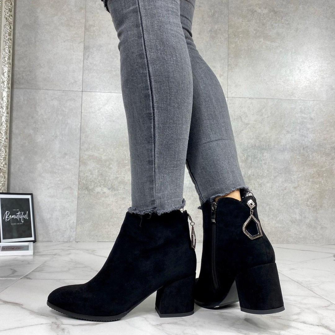 Осенние ботинки на маленьком каблуке
