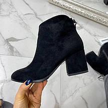 Осенние ботинки на маленьком каблуке, фото 2