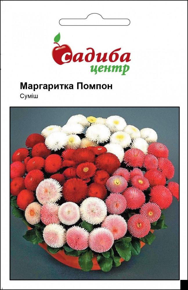 Маргаритка Помпон, смесь 0,05 г Садиба Центр