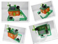 Конструктор-домик на солнечных батарейках