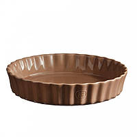 Форма для выпечки глубокая Emile Henry Ovenware 24 см коричневая