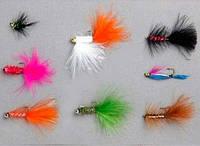Мухи Balzer Rainbow Trout в наборе 8 шт.