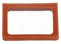 Кожаная обложка для водительских прав SHVIGEL 16080, Коричневый