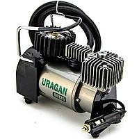 Автомобильный компрессор Uragan 90135 37л/мин 12 В + автостоп