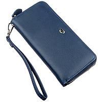 Небольшой женский клатч ST Leather 18929 Синий, Синий