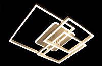 Светодиодная люстра с пультом-диммером и белой подсветкой белая 3916, фото 1