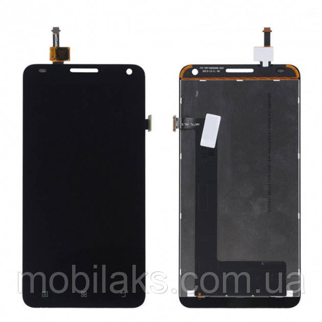 Дисплей (LCD) Lenovo S580 с сенсором чёрный